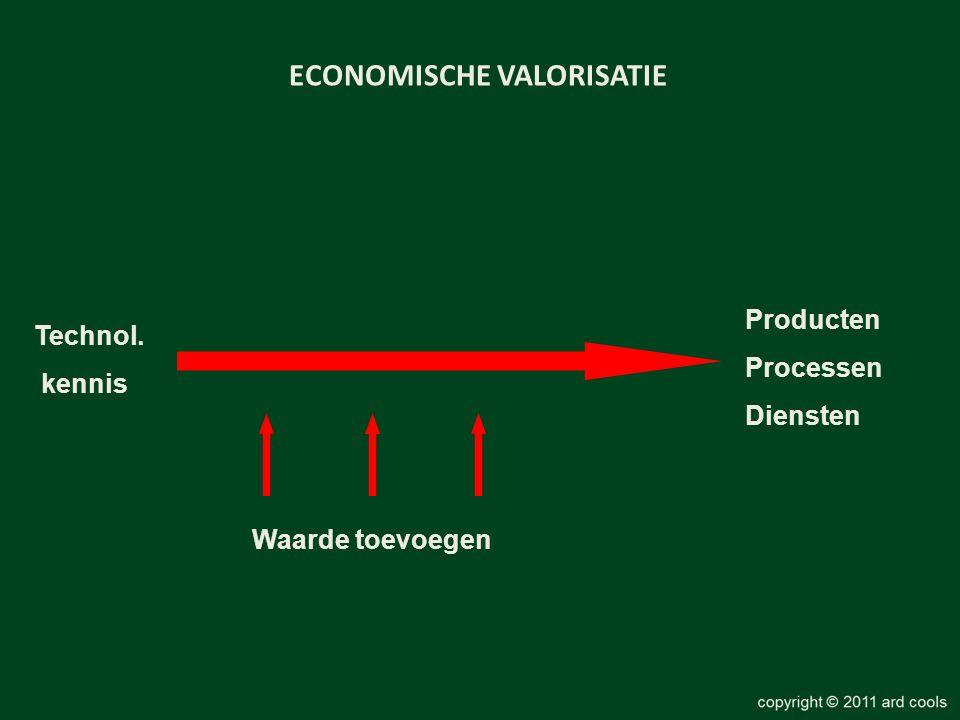 ECONOMISCHE VALORISATIE