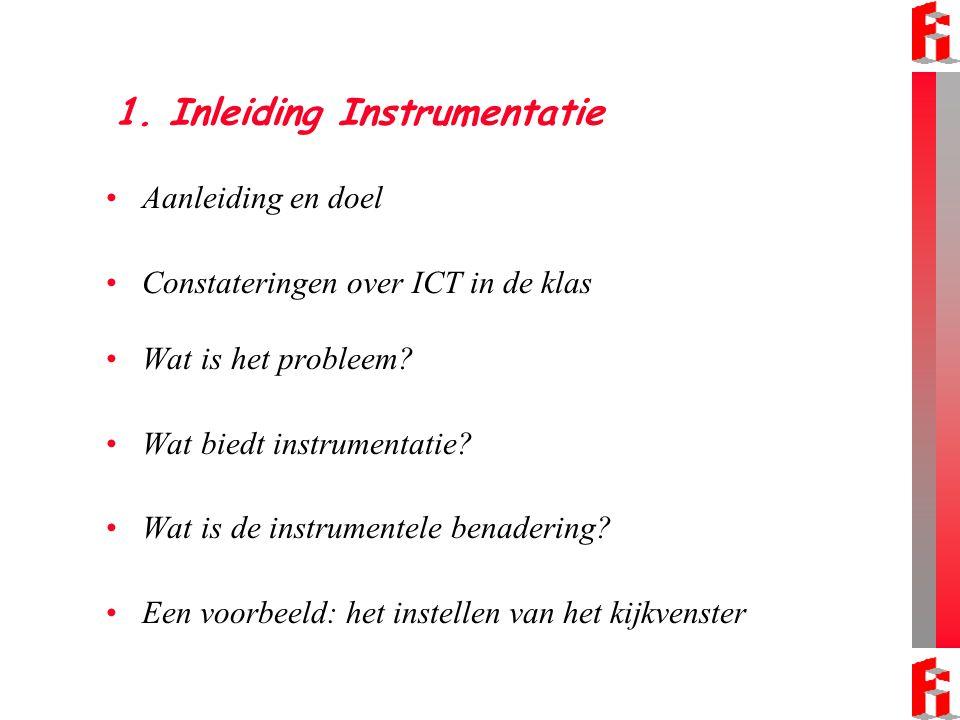 1. Inleiding Instrumentatie