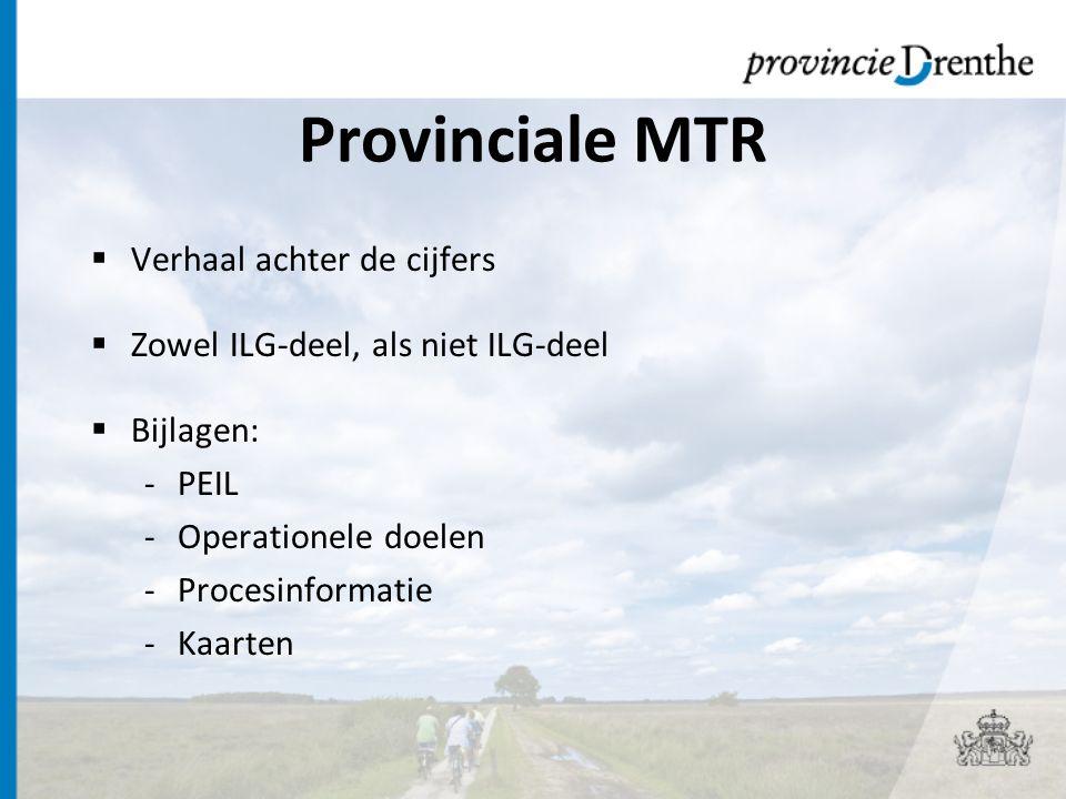 Provinciale MTR Verhaal achter de cijfers