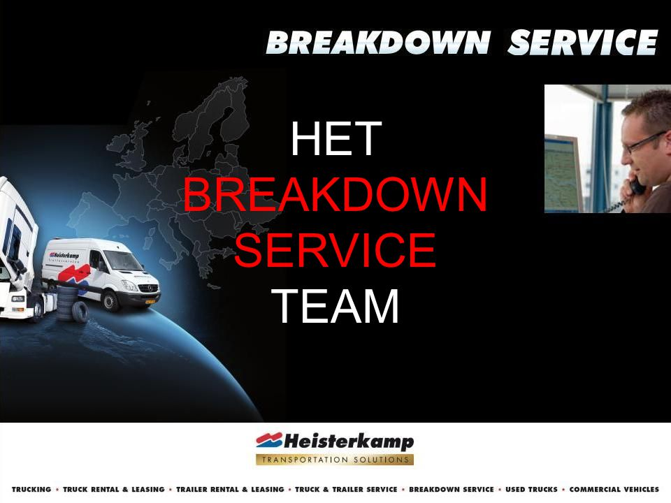 HET BREAKDOWN SERVICE TEAM