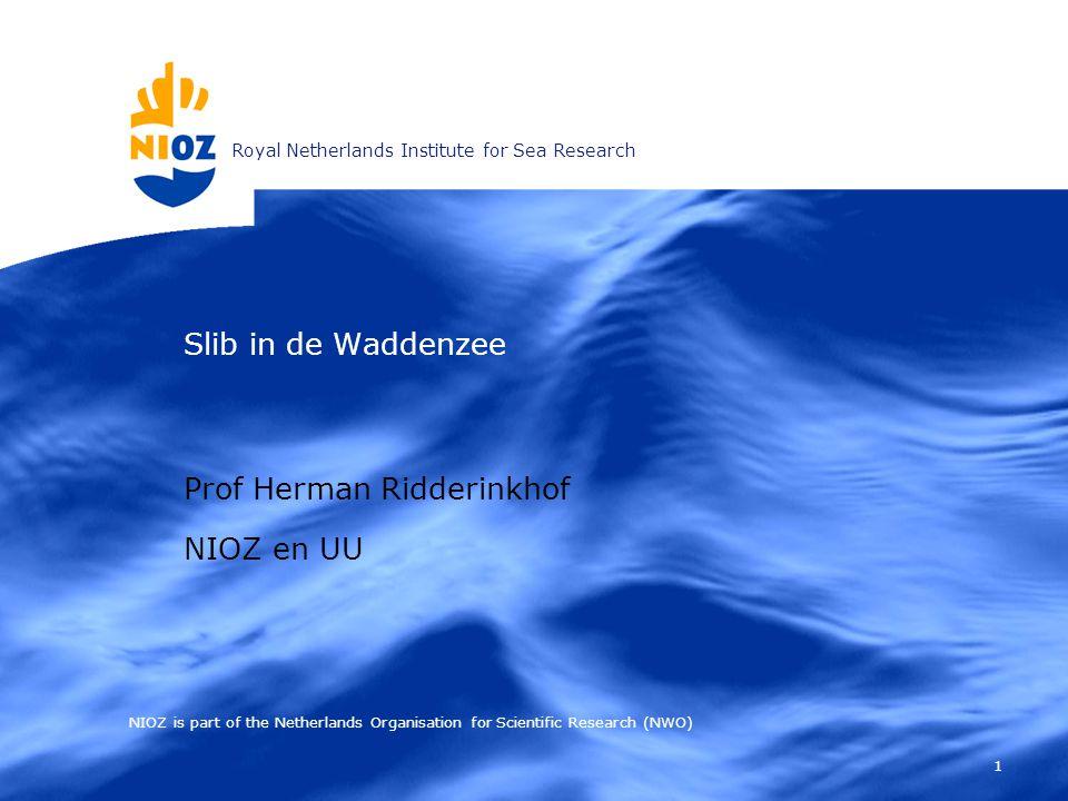 Prof Herman Ridderinkhof NIOZ en UU