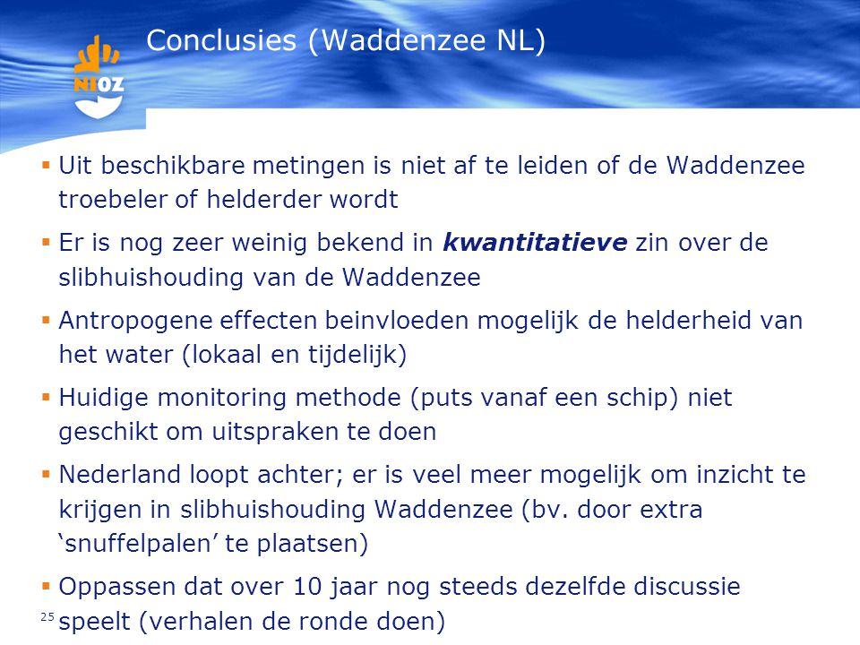 Conclusies (Waddenzee NL)