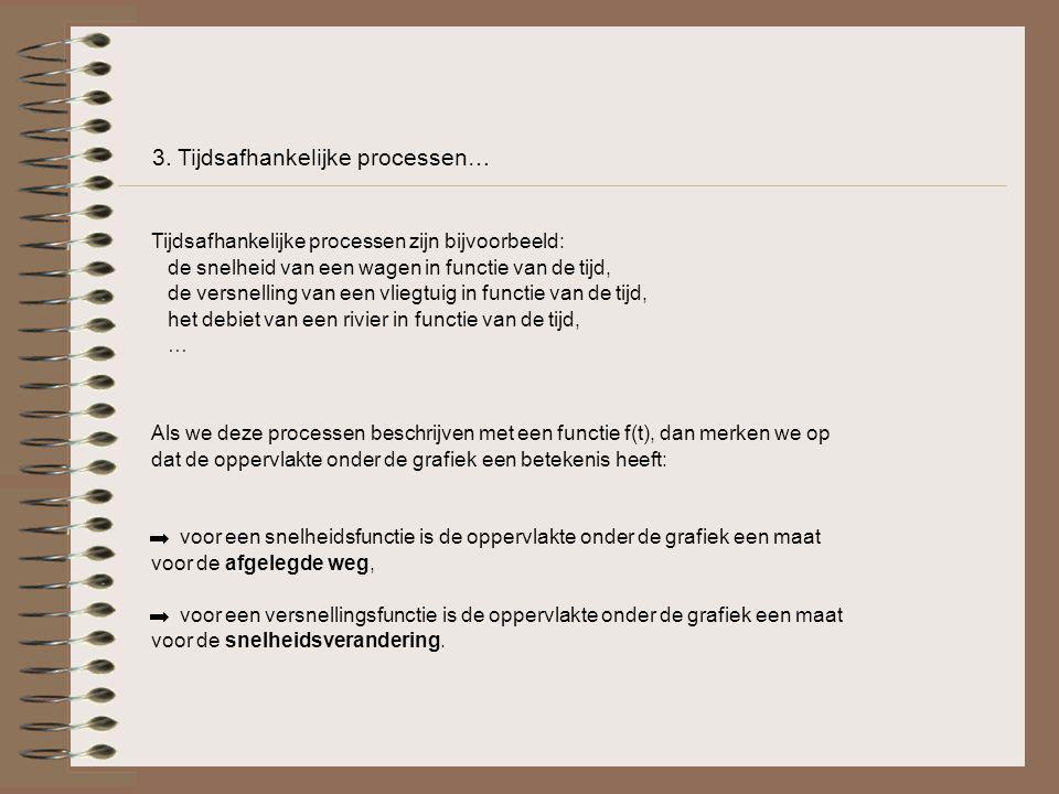 3. Tijdsafhankelijke processen…