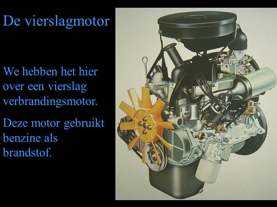 De vierslagmotor We hebben het hier over een vierslag verbrandingsmotor.