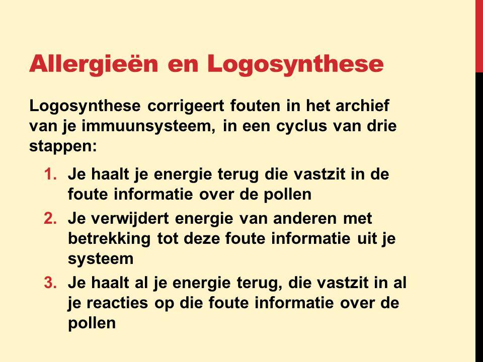Allergieën en Logosynthese