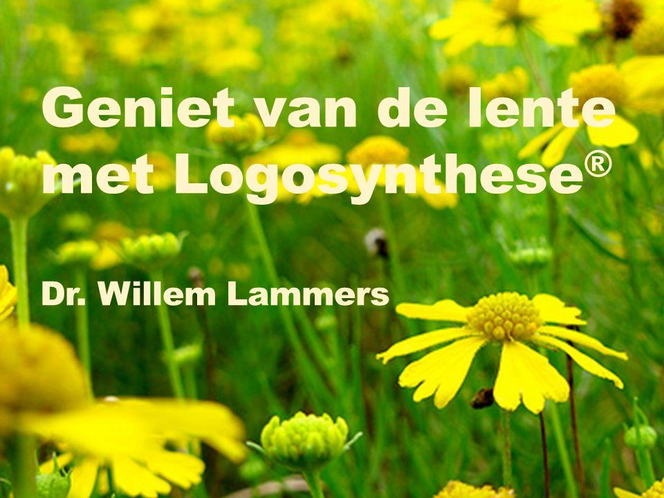 Geniet van de lente met Logosynthese® Dr. Willem Lammers