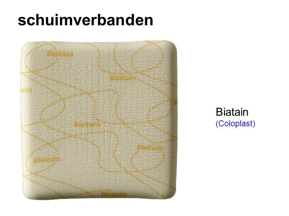 schuimverbanden Biatain (Coloplast)