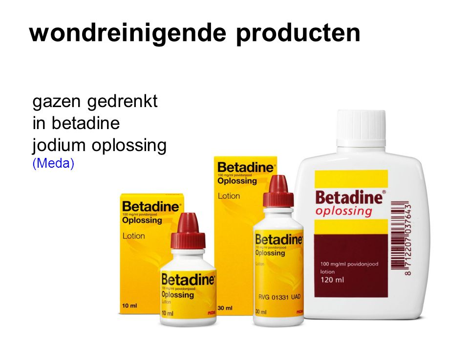 wondreinigende producten
