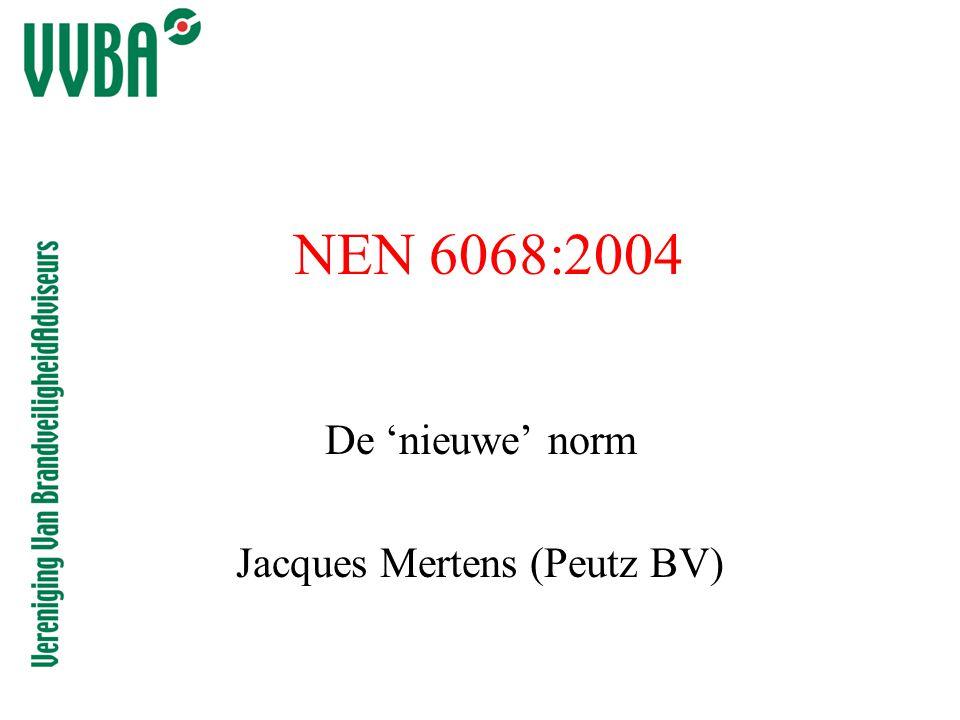 De 'nieuwe' norm Jacques Mertens (Peutz BV)