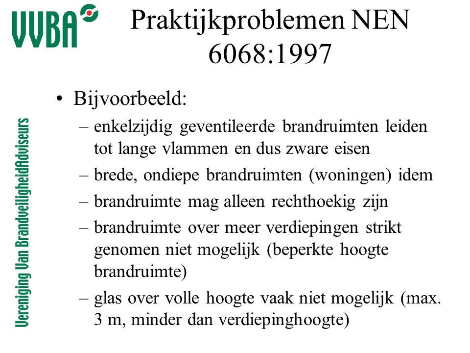 Praktijkproblemen NEN 6068:1997