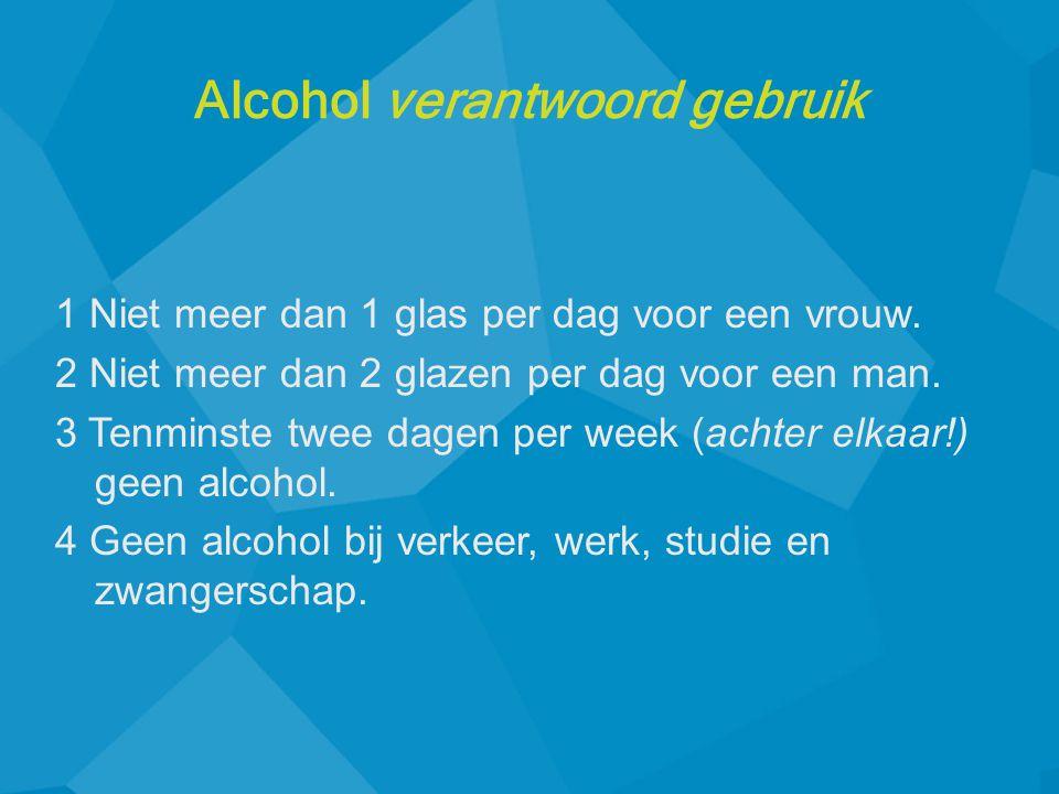 Alcohol verantwoord gebruik
