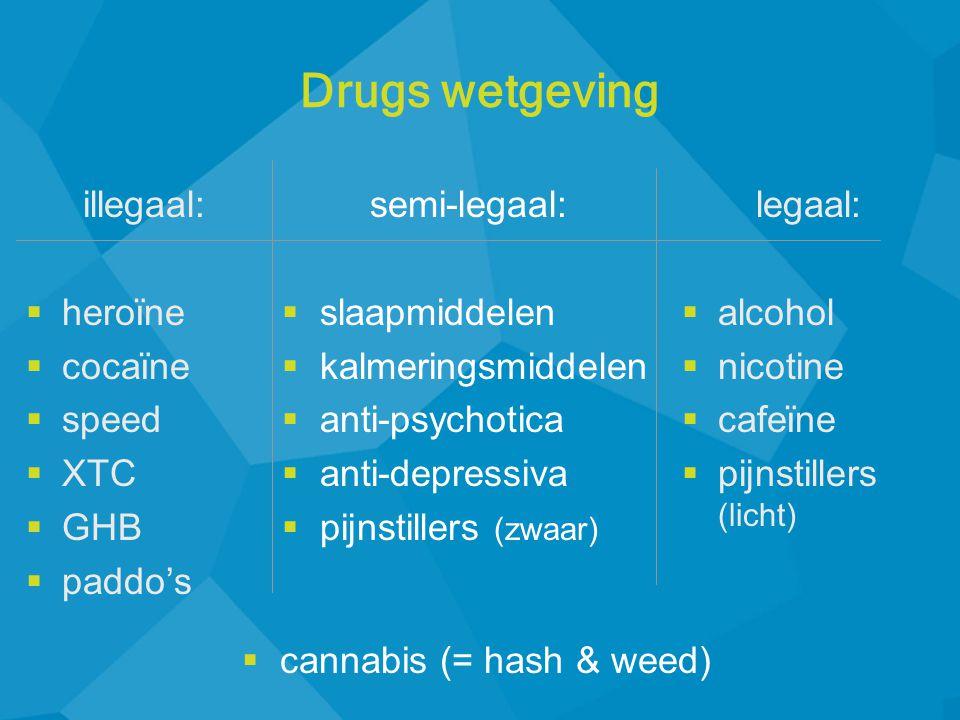 cannabis (= hash & weed)