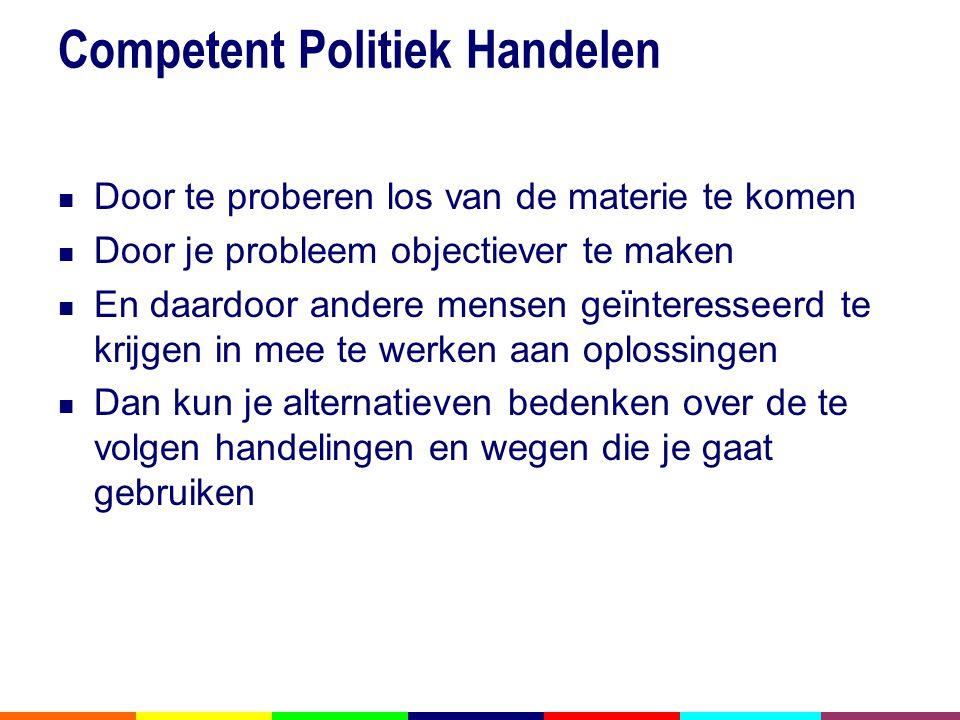 Competent Politiek Handelen