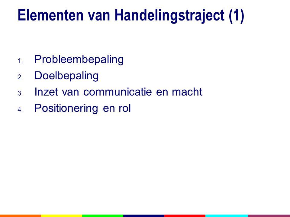 Elementen van Handelingstraject (1)