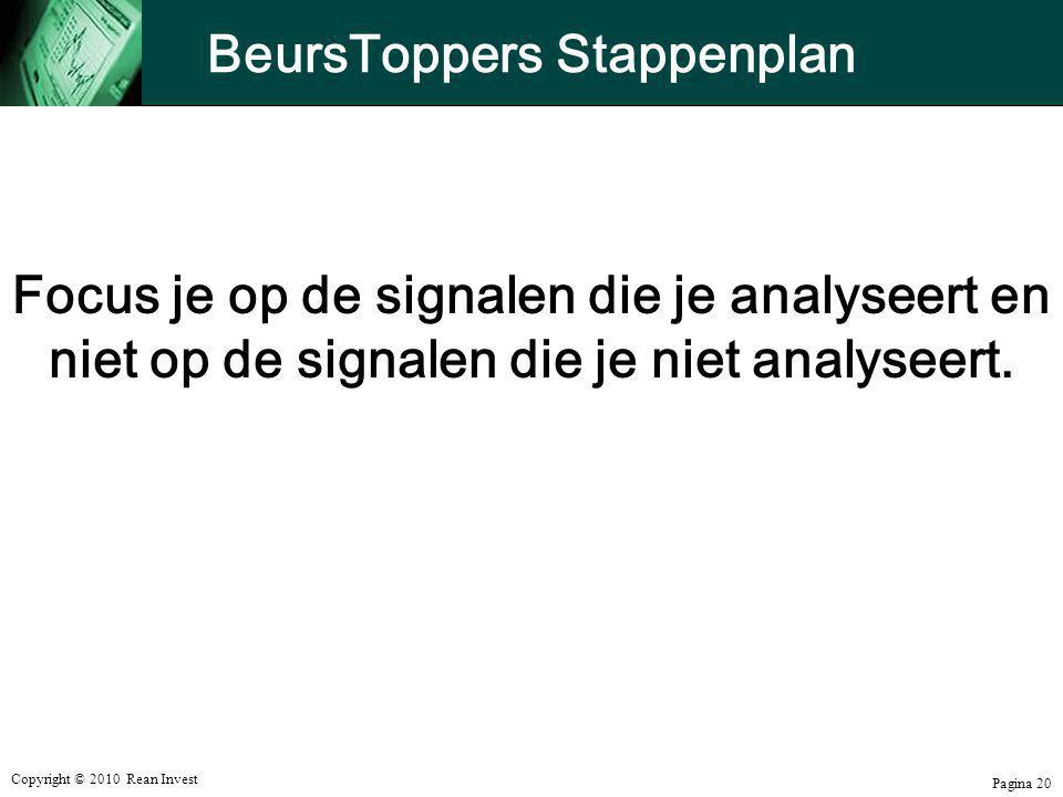 BeursToppers Stappenplan