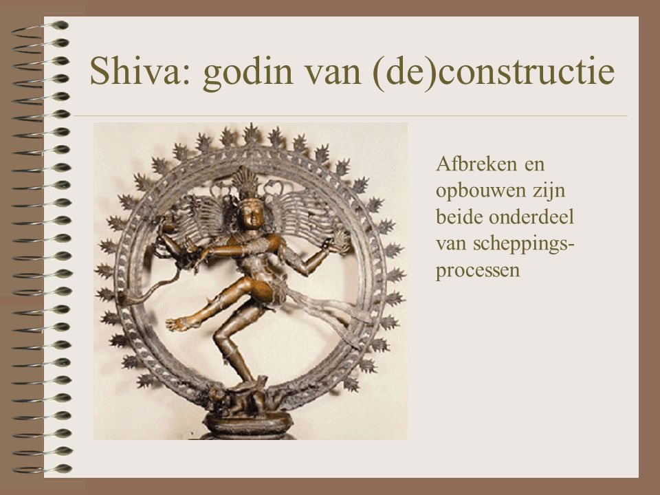 Shiva: godin van (de)constructie