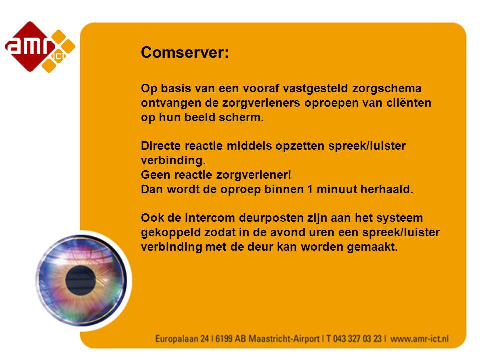 Comserver: Op basis van een vooraf vastgesteld zorgschema