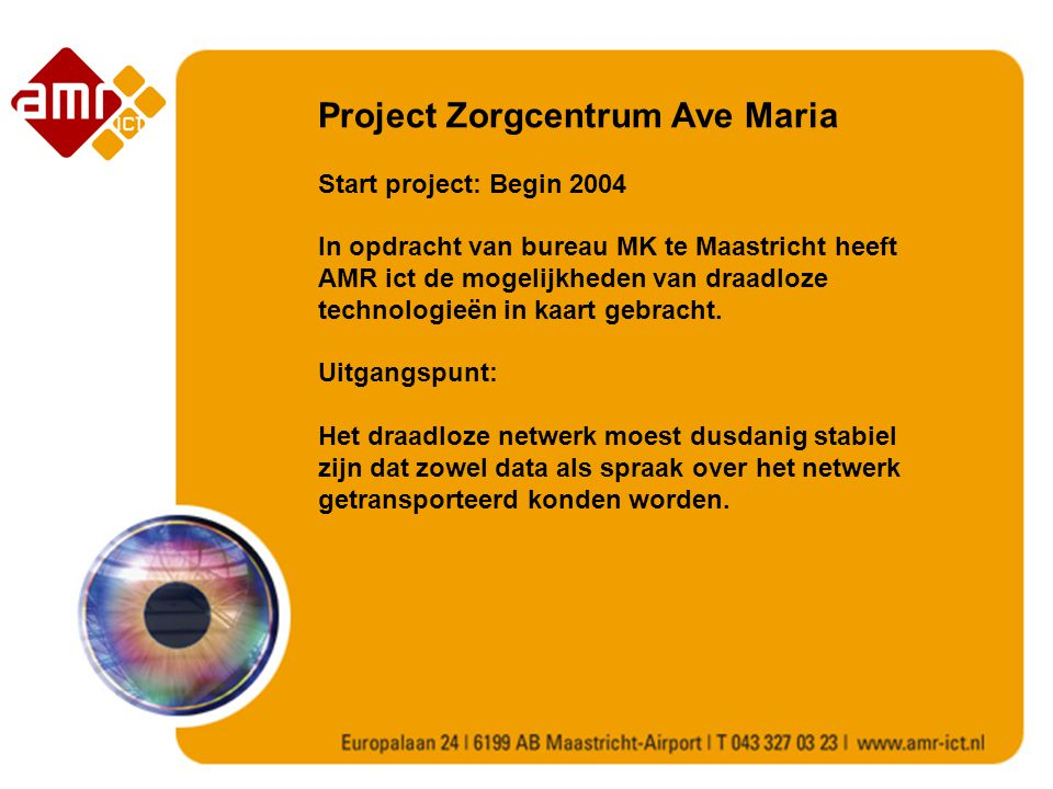 Project Zorgcentrum Ave Maria