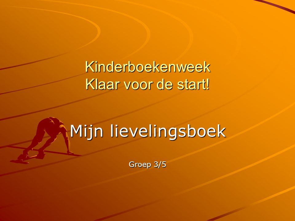 Kinderboekenweek Klaar voor de start!