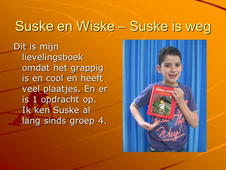 Suske en Wiske – Suske is weg