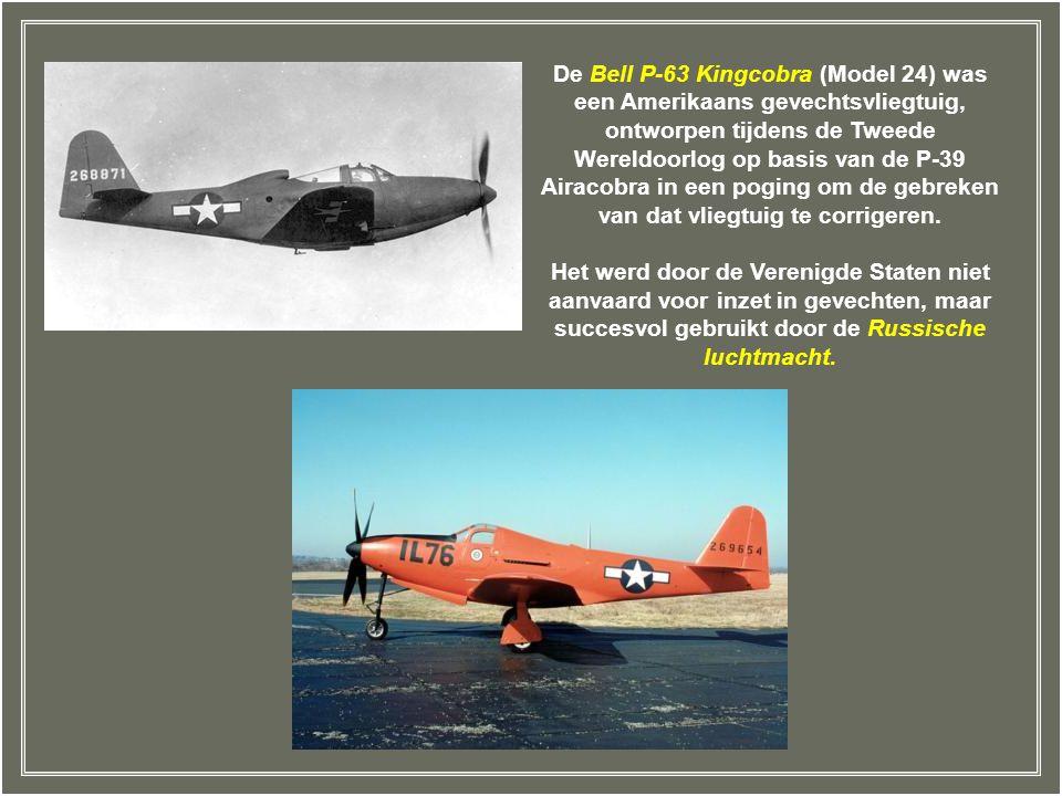 De Bell P-63 Kingcobra (Model 24) was een Amerikaans gevechtsvliegtuig, ontworpen tijdens de Tweede Wereldoorlog op basis van de P-39 Airacobra in een poging om de gebreken van dat vliegtuig te corrigeren.