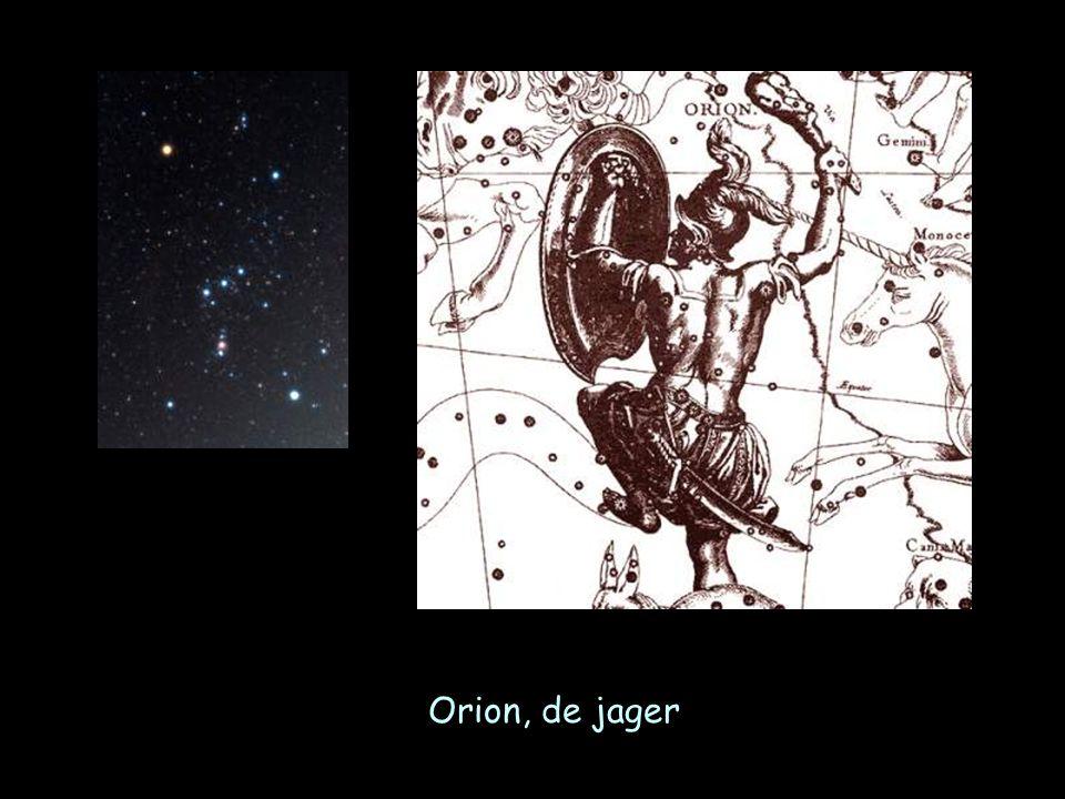 Sterrenbeelden Orion en Grote Hond