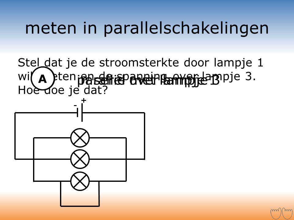 meten in parallelschakelingen