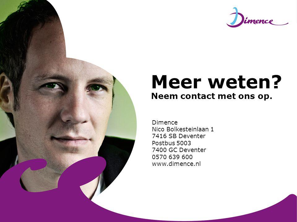 Meer weten Neem contact met ons op.