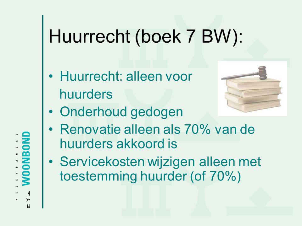 Huurrecht (boek 7 BW): Huurrecht: alleen voor huurders