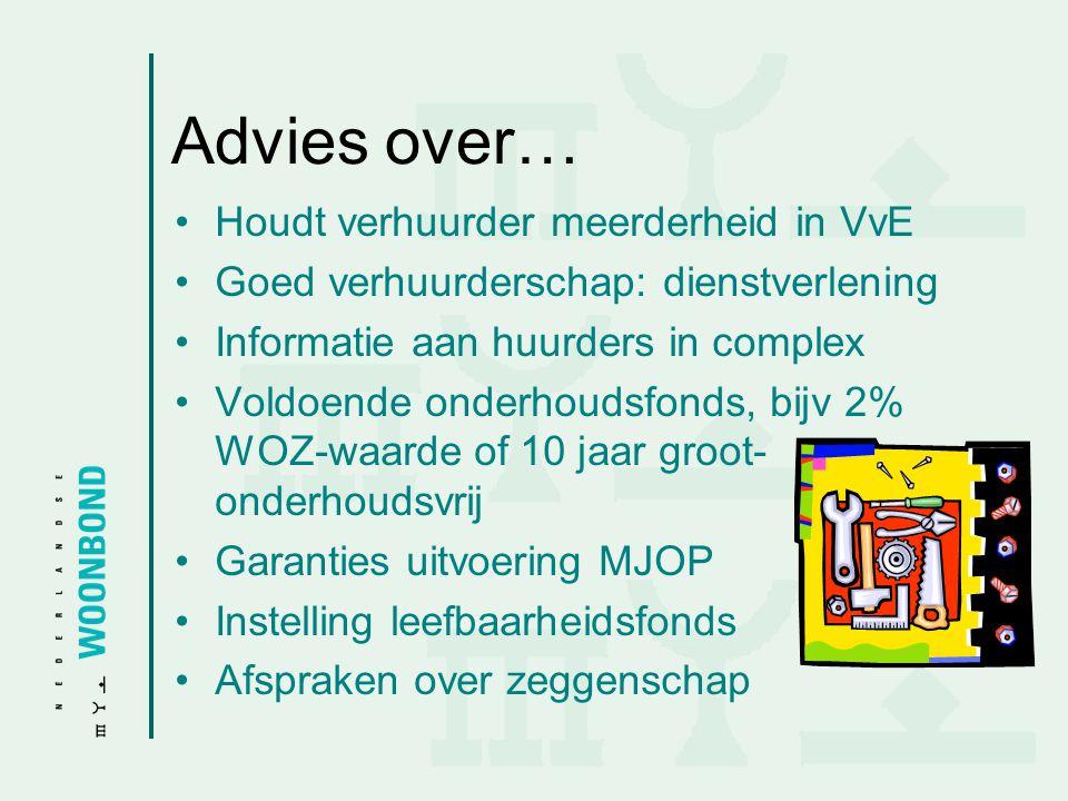 Advies over… Houdt verhuurder meerderheid in VvE