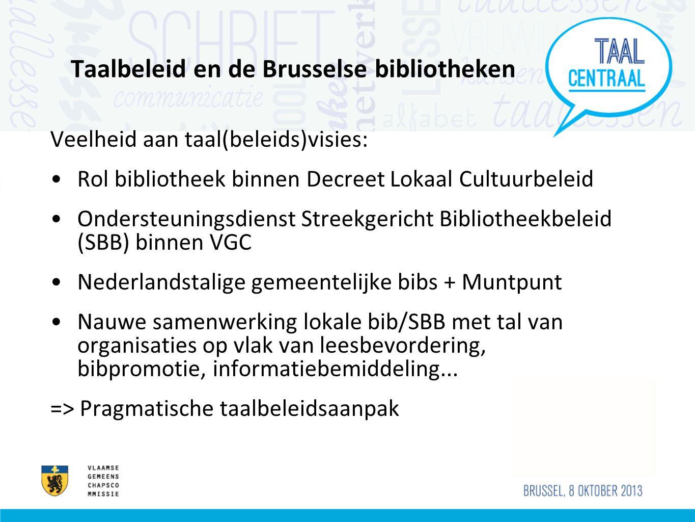 Taalbeleid en de Brusselse bibliotheken