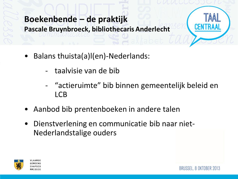 Boekenbende – de praktijk Pascale Bruynbroeck, bibliothecaris Anderlecht