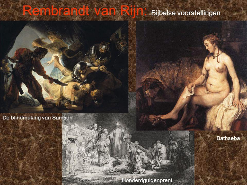 Rembrandt van Rijn: Bijbelse voorstellingen