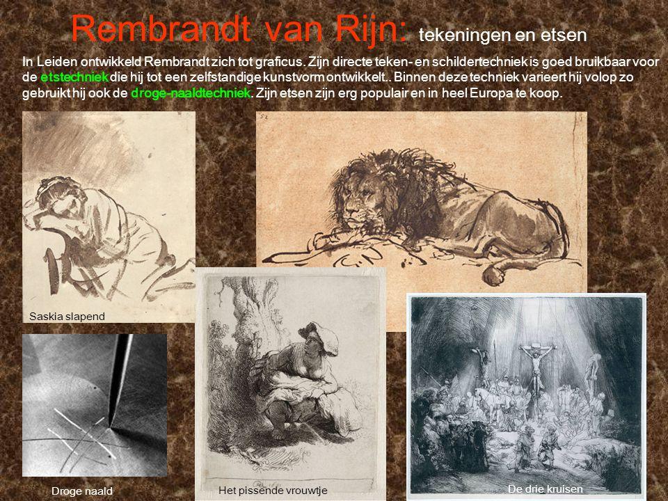 Rembrandt van Rijn: tekeningen en etsen