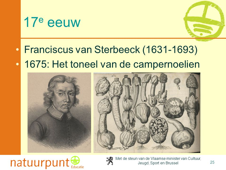 17e eeuw Franciscus van Sterbeeck (1631-1693)