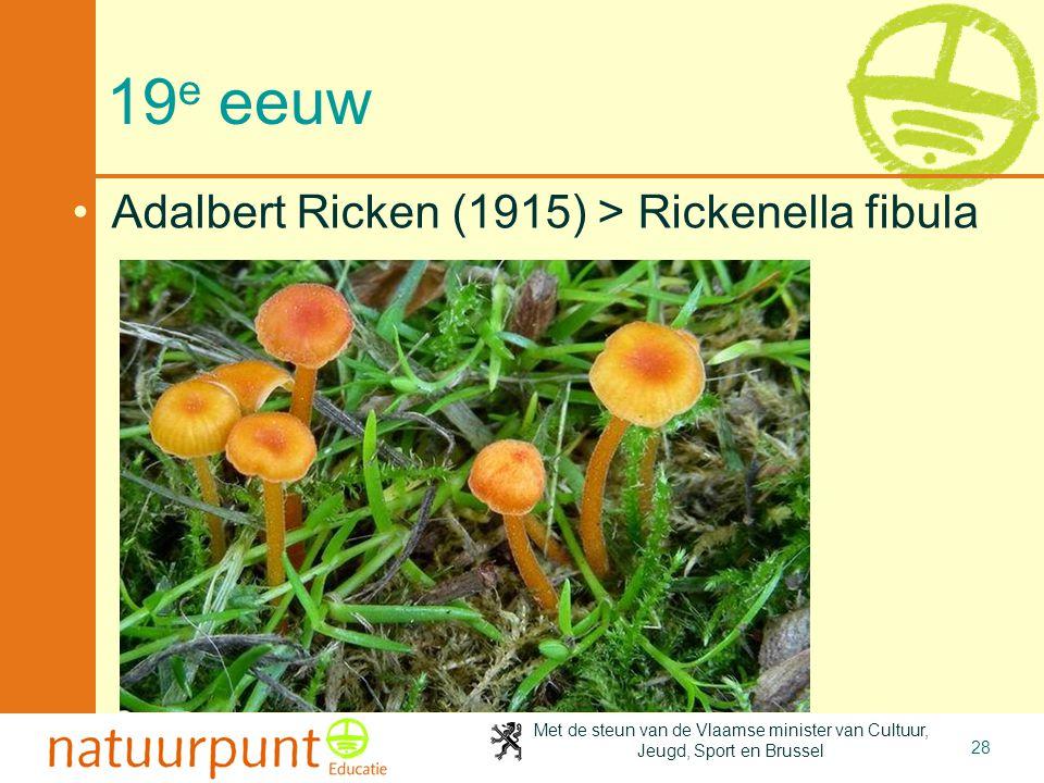 2-4-2017 19e eeuw Adalbert Ricken (1915) > Rickenella fibula