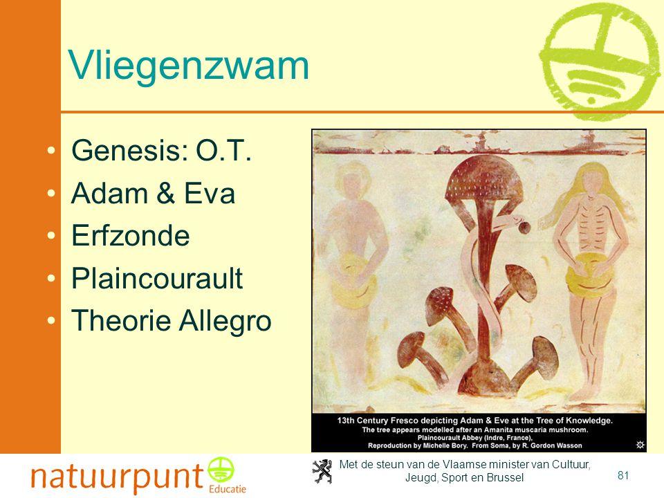 Vliegenzwam Genesis: O.T. Adam & Eva Erfzonde Plaincourault