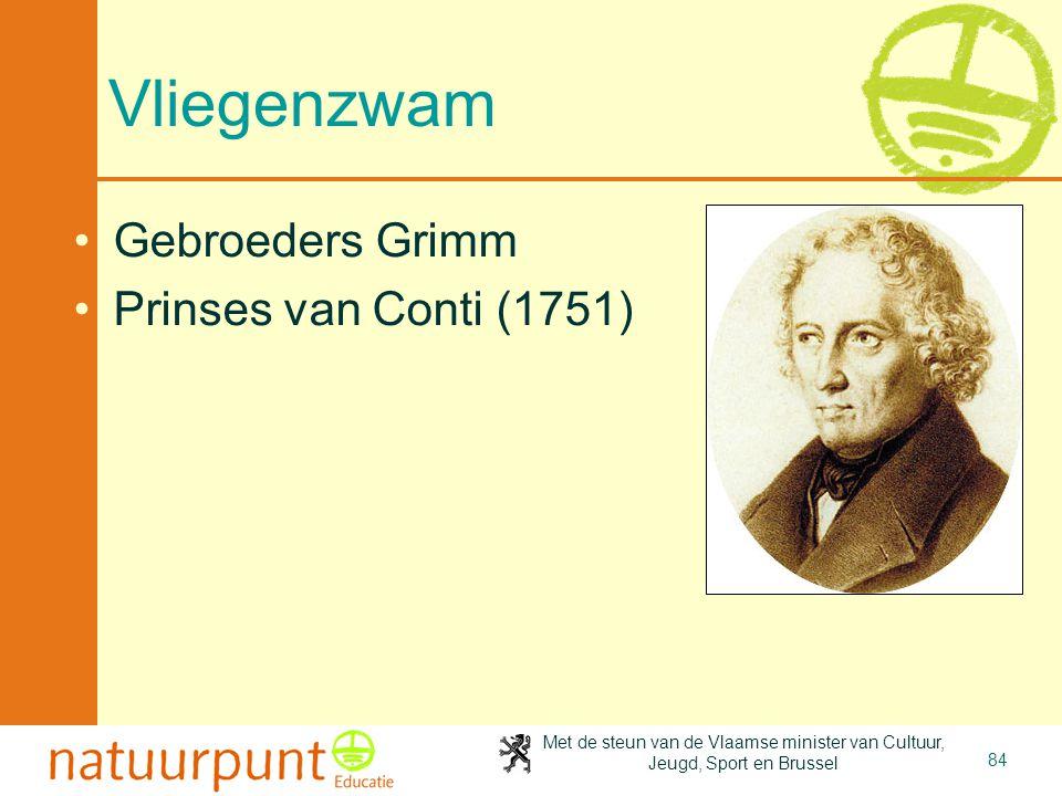 2-4-2017 Vliegenzwam Gebroeders Grimm Prinses van Conti (1751)