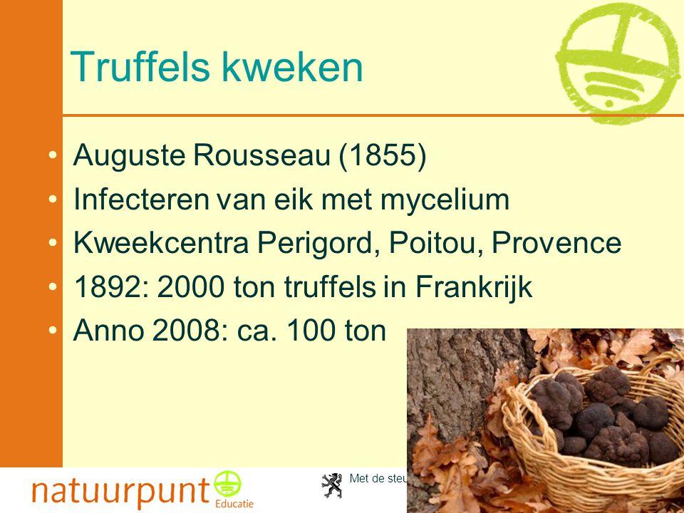 Truffels kweken Auguste Rousseau (1855)