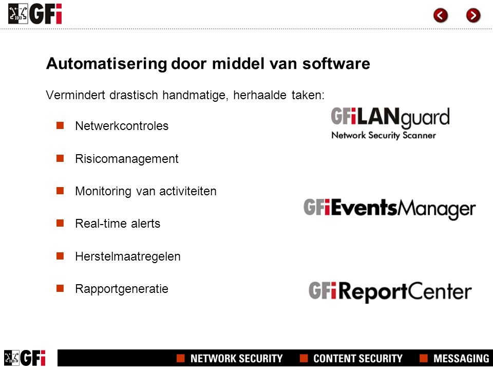 Automatisering door middel van software