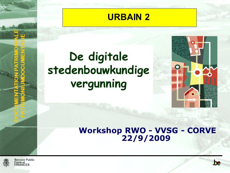 De digitale stedenbouwkundige vergunning