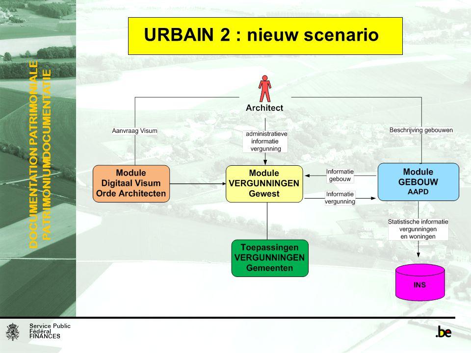 URBAIN 2 : nieuw scenario