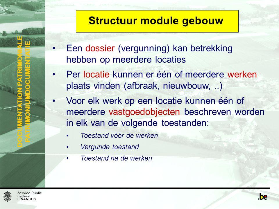 Structuur module gebouw