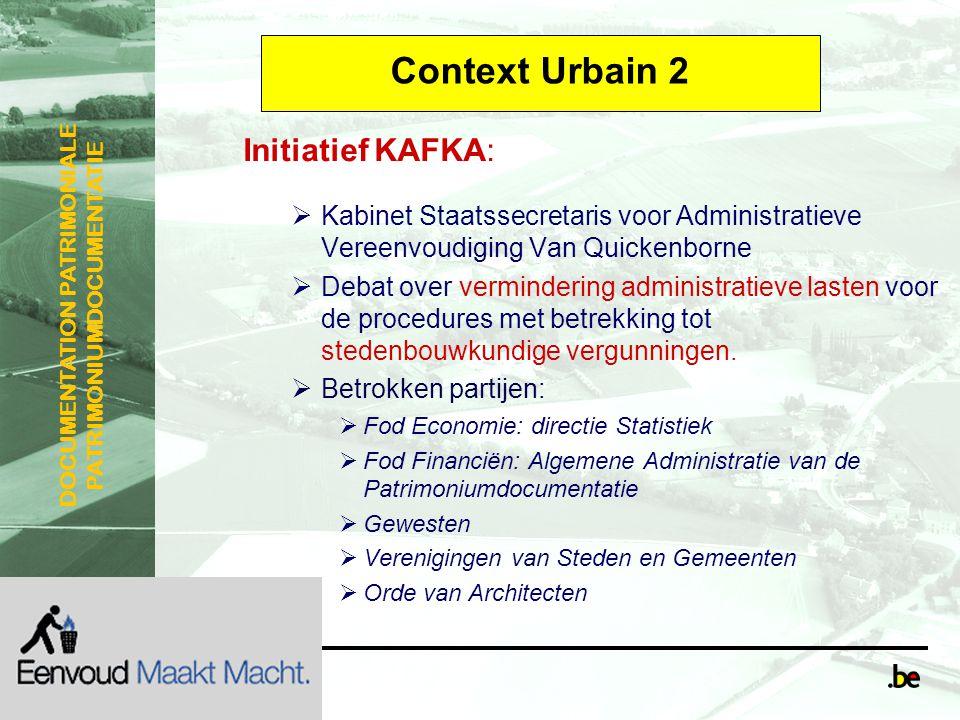 Context Urbain 2 Initiatief KAFKA: