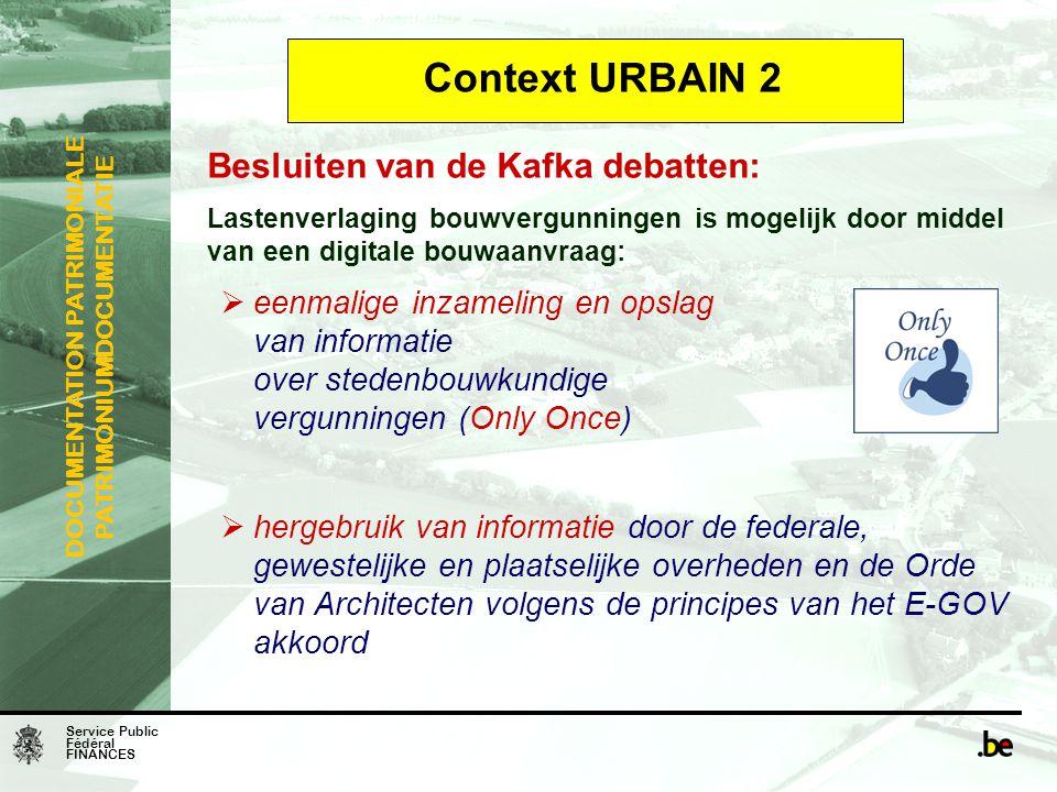 Context URBAIN 2 Besluiten van de Kafka debatten: