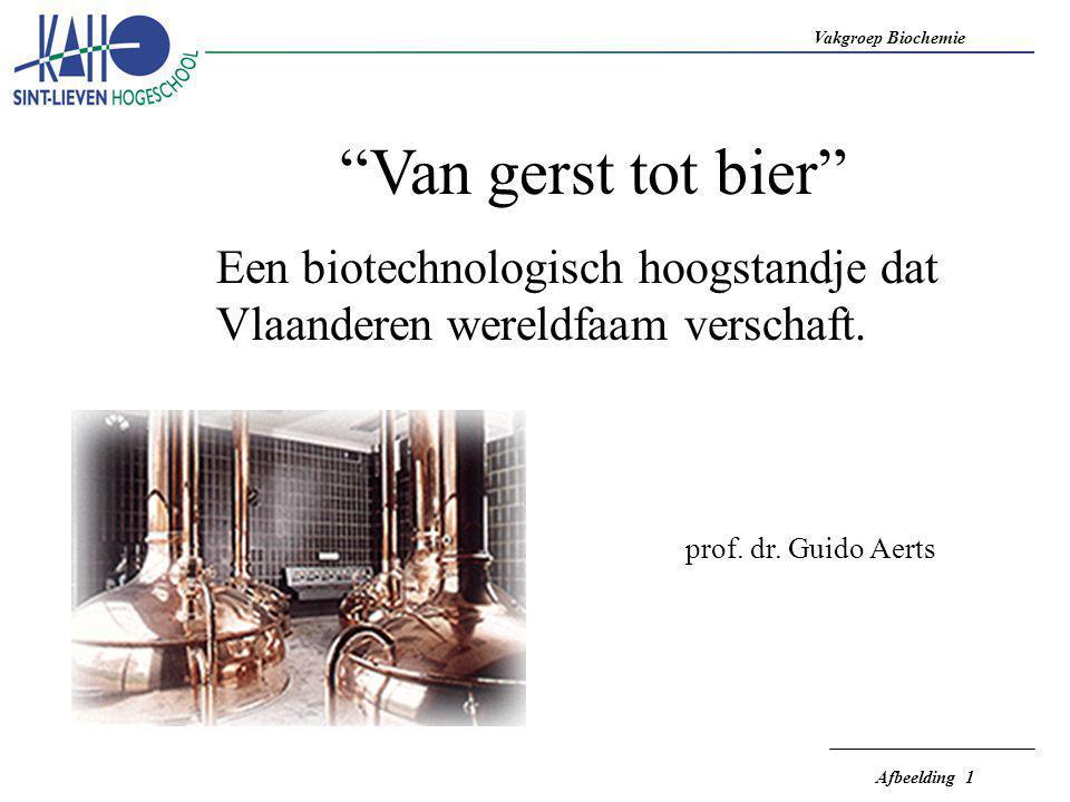 Van gerst tot bier Een biotechnologisch hoogstandje dat Vlaanderen wereldfaam verschaft.