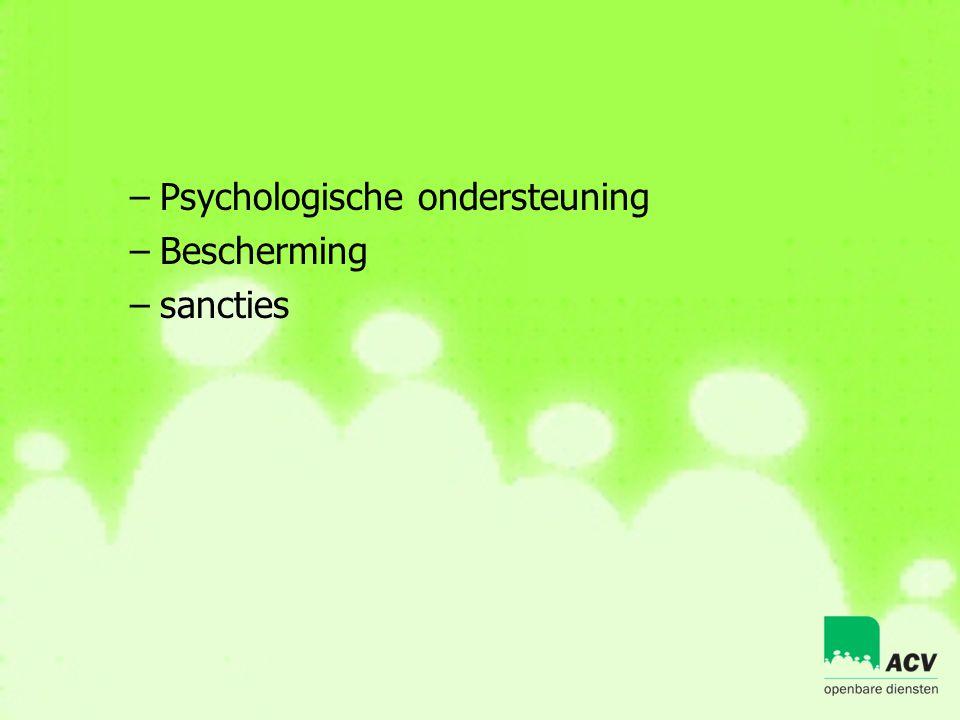 Psychologische ondersteuning