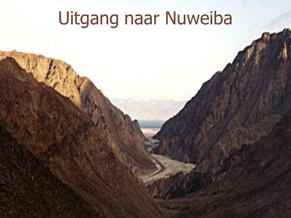 Uitgang naar Nuweiba