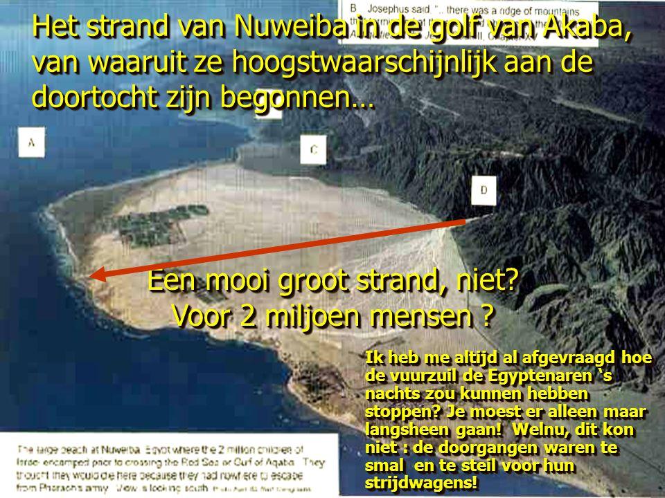 Een mooi groot strand, niet Voor 2 miljoen mensen
