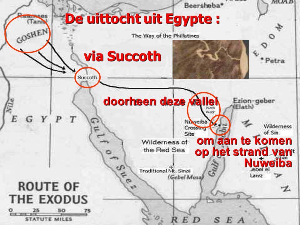 De uittocht uit Egypte :